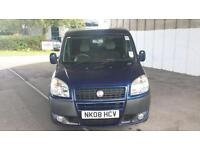 Fiat Doblo 1.4 8v Dynamic Wheelchair Access Vehicle (WAV)3 seats + 1 Wheelchair