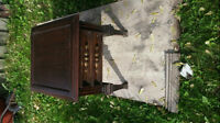 Small Wooden End Table