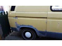 vw campervan T25 Reduced