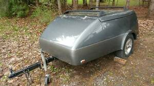 Easy Tow Trunk Trailer (Light Fiberglass Body)
