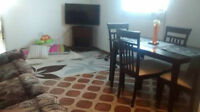 3 1/2 for rent in a Duplex_Hot water included+Furnished housing
