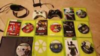 xbox 360 120gb full set Great Condition + including HDMI cable