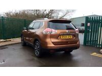 NISSAN X-TRAIL 1.6 dCi Tekna 5dr 4WD [7 Seat] (brown) 2016