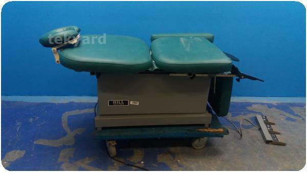 HILL ADJUSTABLE  POWER EXAMINATION CHAIR ! (222656)