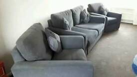 Three piece suite bed settee