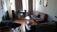 Fully Furnished 3 1/2 Apt (July and August Sublet) Guy & Sherb.