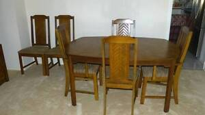 Dining Suite 6 Chairs & Hutch