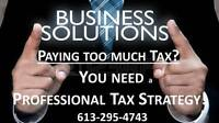 PAYING TOO MUCH TAX?!  I SPECIALIZE in SAVING CONTRACTORS TAXES!