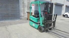 Container forklift for sale just after full service. Everything working as it should