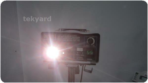 LUXTEC 1150  FIBREOPTIC HALOGEN LIGHT SOURCE % (221736)