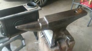 Blacksmith Anvil and Tools
