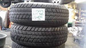 A set of two winter tires champiro 205/70R14