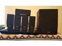 SONY 5.1 Smart 3D Blu-ray Home Cinema System 7 piece great condition!