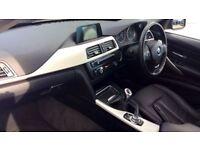 BMW 3 SERIES 320d EfficientDynamics Business 4dr (black) 2014