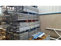 Galvanised Pallet Racking - Excellent Clean Condition