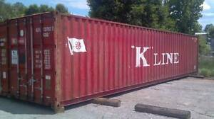 Used Steel Storage Containers available