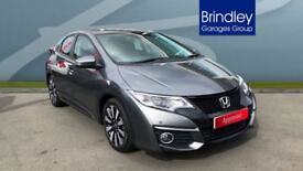 HONDA CIVIC 1.8 i-VTEC SE Plus 5dr [Nav] (grey) 2017
