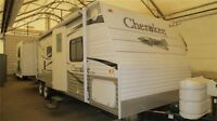 2009 FOREST RIVER CHEROKEE 28A - Double slide w/ Bunks 4 Kids