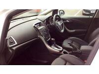 VAUXHALL ASTRA 1.6i 16V Elite 5dr Auto (white) 2013