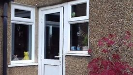 **UPVC DOOR**WITH FRAME**COMES WITH KEYS**GOOD CONDITION**BARGAIN**NO OFFERS**DOUBLE GLAZING**