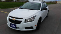 2014 Chevrolet Cruze LT Sedan CERTIFIED AND ETESTED LOWKM