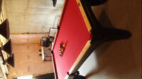 2013 Olhausen Pool Table/Ping Pong Table Combo for Sale