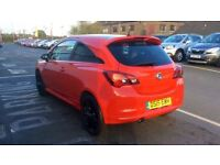 VAUXHALL CORSA 1.4 Limited Edition 3dr (red) 2015