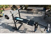**GYM EQUIPMENT**BENCH**BARBELL**WEIGHTS**DELIVERY
