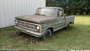 WANTED...1967-1972 F100 FOR PARTS