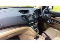 HONDA CR-V 2.2 i-DTEC EX 5dr Auto (blue) 2015