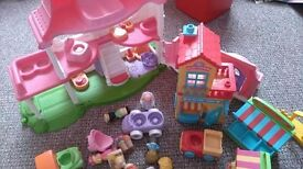 Fisher price little People cottage and shop set
