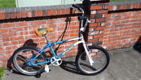 Small size ,BMX (fits a 5 foot tall rider or shorter )