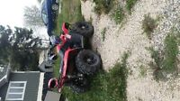 2012 suzuki king quad 5500.00 low km