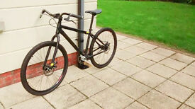 "Vitus Single Speed Bike Matte Black 2013 (19"" frame)"