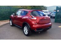 NISSAN JUKE 1.5 dCi N-Connecta 5dr (red) 2016