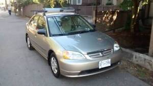 2001 Honda Civic - great for city driving! *PRICE REDUCED*