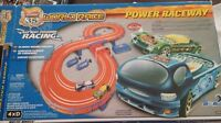 Hot wheels world race power raceway (slot cars) brand new!