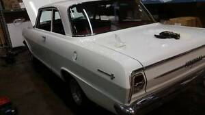 1963 chevy 11 nova - 2 door post