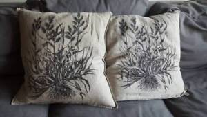Cushions + cushion covers