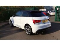 AUDI A1 1.4 TFSI S Line Style Edition 3dr (white) 2013