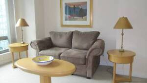 FULLY FURNISHED DOWNDOWN COAL HABOUR APARTMENT - LONG TERM