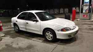 Well maintained 2001 Chevy cavalier