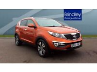 KIA SPORTAGE 1.7 CRDi ISG 3 5dr (orange) 2011
