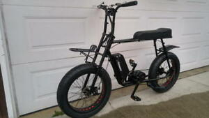 super ebike 73 mile range no gas no license electric bike