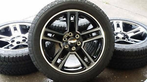 "22"" OEM GMC Rims with Bridgestone tires. Tires."