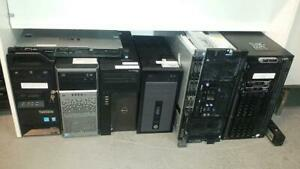 Vente Plusieurs Serveurs HP Proliant, Dell poweredge, IBM - Rack 1U, 2U, 4U, Big Tower - Xeon 2x, 4x 6x, E3, E5, E7, SAS