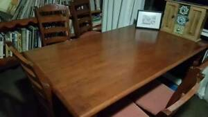 Table wooden 6 seater