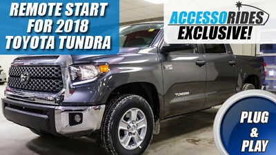 Fits: 2018 TOYOTA TUNDRA REMOTE START PLUG AND PLAY CAR STARTER