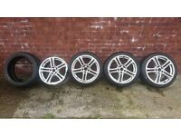 VW Golf/Seat Leon - 18 Inch Alloys and Tyres