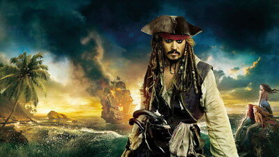 006 Pirates of The Caribbean - Captain Jack Sparrow Deep Movie 24